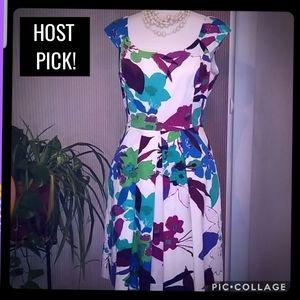 Muse spring floral dress sz: 14